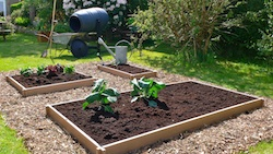Recycled Plastic Raised Bed Maintenance-free Rot-free Long lasting=