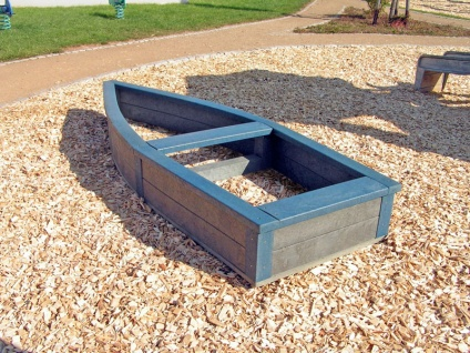 Children S Recycled Plastic Adventure Ship Sand Box