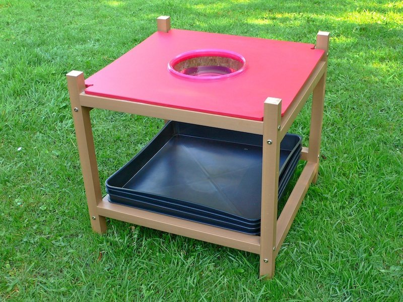children 39 s gardening exploration table sink module education