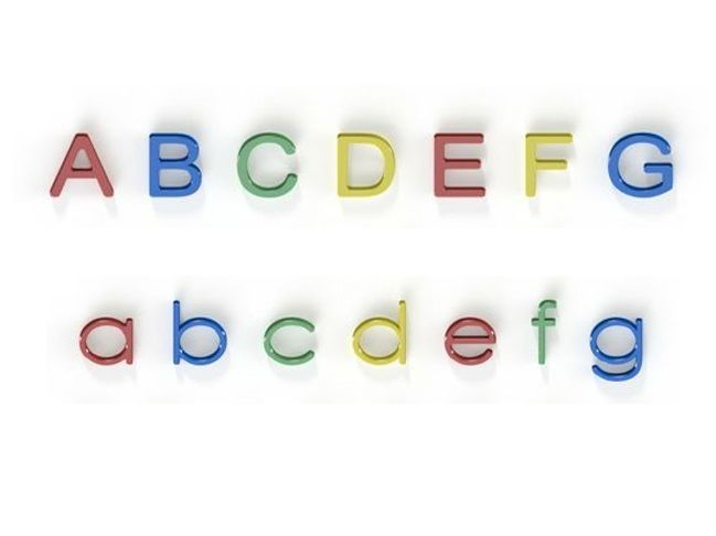 Alphabet H 400mm Upper And Lowercase Letters Recycled Plastic Hdpe Education
