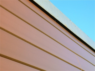 Recycled Plastic V-Cladding from Kedel Limited on School