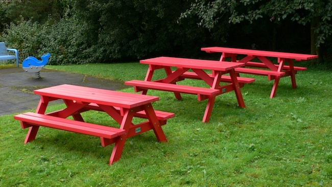 Recycled Plastic Picnic Table Kedel