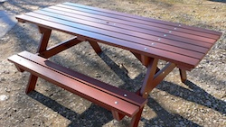 Recycled Plastic Picnic Bench Maintenance-free long lasting Kedel Limited
