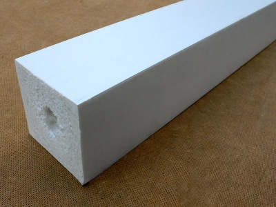 Recycled Plastic Wood Square Post | 88 x 88mm