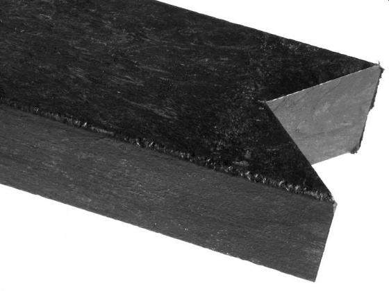 Recycled mixed plastic Lumber / Post | V-top / Birdsmouth | (W)140 x (D)100mm