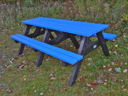 Multicoloured Picnic Table | Furniture Range | Recycled Plastic