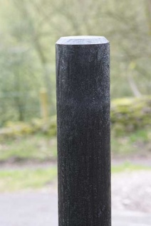 Recycled Mixed Plastic BOLLARD CHAMFERED TOP 150mm dia