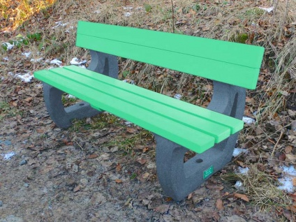 Colne 3 seater Sports / Leisure Bench | Recycled Plastic