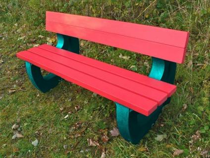 Colne Rainbow Bench Garden Bench Multicoloured