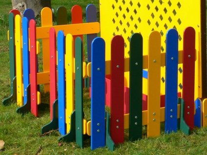 Picket Fence Module for Cube Play Den