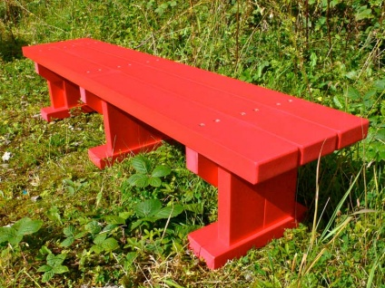 Derwent Junior Seat / Bench - Recycled  Plastic Wood