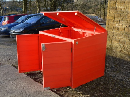 Lockable Storage | Tool and Toy Shed | Recycled Plastic