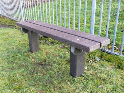 The Spey Bench | A Recycled Mixed Plastic Bench
