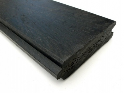 Recycled plastic lumber - mixed plastics - Tongue and Groove - 147 x 34mm