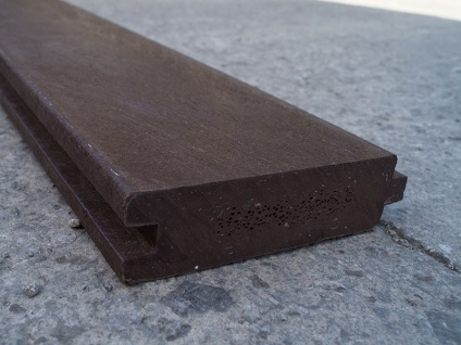 Recycled Mixed Plastic Tongue & Groove Plank/Board 130 x 38mm