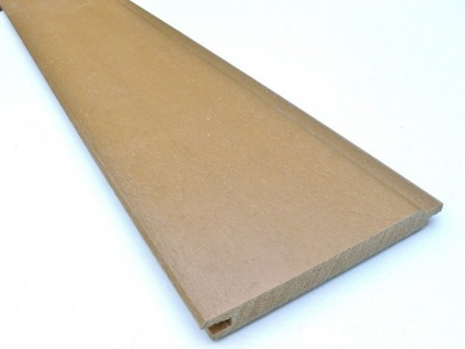 Recycled Plastic Wood - Synthetic Wood - T&G - 125 x 15mm