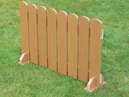 Picket Fence Panels | Recycled Plastic Wood
