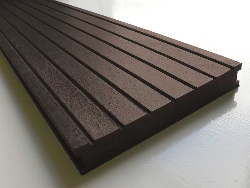 Recycled Mixed Plastic Decking 195 x 28mm Education