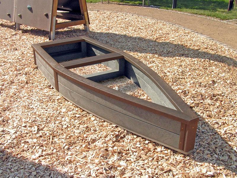 Children S Recycled Plastic Adventure Ship Sand Box
