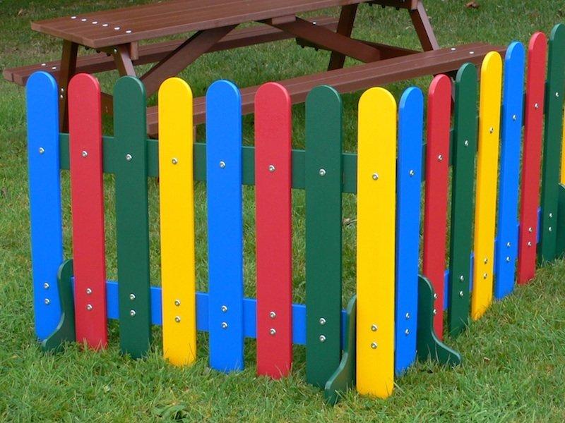 Kedel Rainbow Fence Education