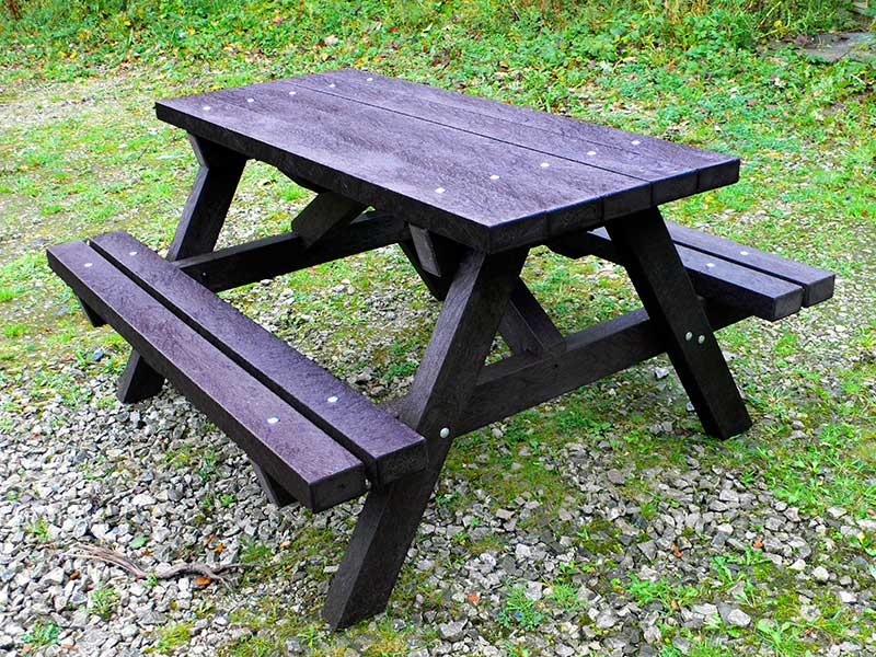 Excellent Ribble Picnic Table Recycled Plastic Evergreenethics Interior Chair Design Evergreenethicsorg