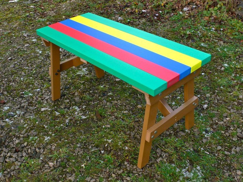 Thames Child S Multicoloured Outdoor Garden Table Recycled Plastic Education