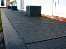 Recycled Mixed Plastic Lumber - Marine Decking - 150mm x 27mm x 3.6m