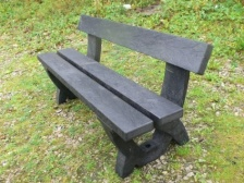 Clyde Bench - 3 seater - Recycled Plastic