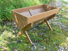 Cradle Bed - Planter - Recycled Plastic - Plastic Wood