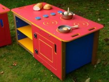 Outdoor Kitchen Play Cooker / Oven Unit | Double size | Recycled Plastic HDPE