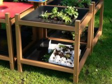 Children's Gardening / Exploration Table - Recycled Plastic