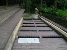 Recycled Mixed Plastic Footpath Planks Reinforced 165 x 48