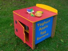 Kitchenphonics Play Kitchen Fridge Unit - Recycled Plastic