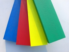 Recycled Plastic Wood - Colours - 100 x 40mm