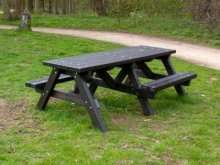 Ribble Picnic Table with Wheelchair / Pushchair Access
