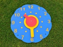 Wall Clock - Multicoloured Recycled Plastic