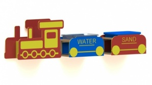 New Product - Recycled Plastic Sand and Water Train