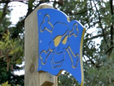 Pirate Flag Playground Accessory | HDPE Plastic