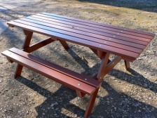 Thames Picnic Table | Wheelchair Access | Recycled Plastic Wood