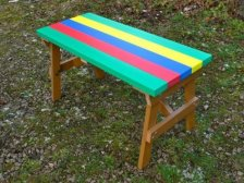 Thames Child's Multicoloured Outdoor Garden Table - Recycled Plastic