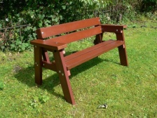 Thames Children's Bench | Recycled Plastic Wood
