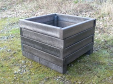 Recycled Plastic Vegetable Planter | Raised Bed