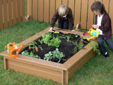 Delux Raised Bed (L)1.4 x (W)1m x 260mm with Seat Surround
