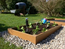 Recycled Plastic Raised Bed | Garden Bed